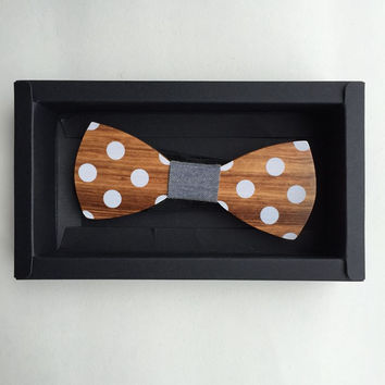 Fun Personality Mens Tie Leisure Wooden Bow Ties Bowtie Butterflies
