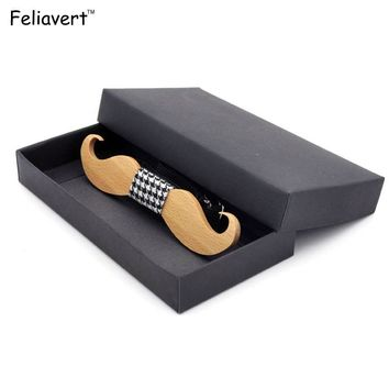 Wedding Wood Bow Tie For Men Neck Fashion Handmade Bow Ties - Free Shipping
