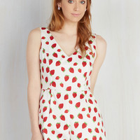 Over and Fun With Romper | Mod Retro Vintage Shorts | ModCloth.com