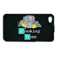 Adventure Time iPhone Case Heisenberg iPhone 5 Case Cute iPod 4 Funny iPod 5 Case Cooking Time iPhone 4 Case Breaking Bad iPhone 4s Cover