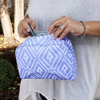 Makeup Bag Piper Periwinkle