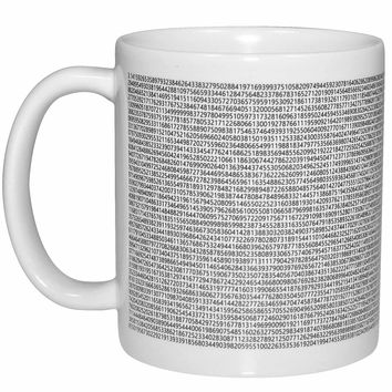 Value of Pi Wraparound Coffee or Tea Mug - Perfect Math Teacher Gift