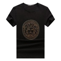 Versace men and women T-Shirt White, black  M/3XL