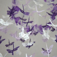 Butterfly Mobile - Purple, Lavender.. on Luulla