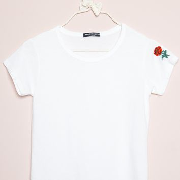 MASON ROSE EMBROIDERY TOP