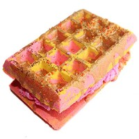 Chai Tea Waffle Sandwich Bath Bomb+ Bubble Bar