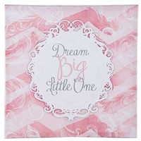 Dream Big Little One Canvas Wall Art | Shop Hobby Lobby