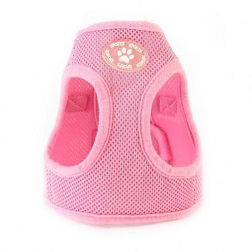 Vest Step-in Breathable Plastic Dog Harness