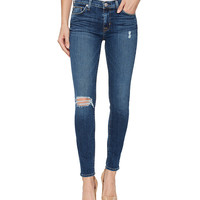 Hudson Nico Mid-Rise Ankle Super Skinny Jeans in Jigsaw