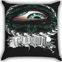 Tool Band Logo A0324 Zippered Pillows  Covers 16x16, 18x18, 20x20 Inches