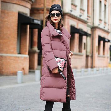 2016 New Winter Collection Women Down Coat Jacket Warm High Quality Woman Down Parka Female Thickening Big Plus Size Outerwear