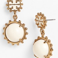 Tory Burch 'Winslow' Logo Drop Earrings