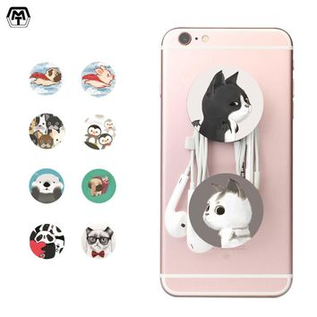 MT Pop Cute Animal Phone Holder Portable Airbag Stander Hand finger Hold Mobile Phone Sockets Universal Socket for iPhone Xiaomi