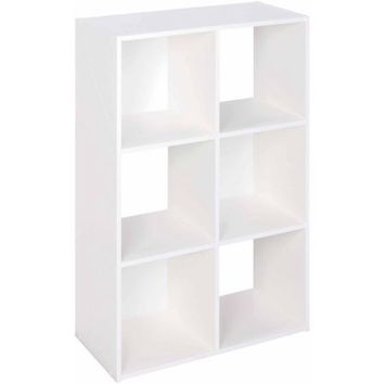 ClosetMaid 6-Cube Organizer, White - Walmart.com