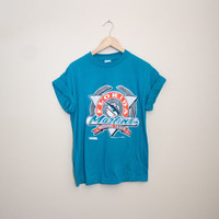 Vintage 1991 Florida Marlin Tee MLB Tshirt! Size Medium
