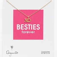 Dogeared 'Reminder - Besties Forever' Boxed Pendant Necklace | Nordstrom
