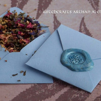 HEALING ALCHEMY Spirit of Magic™ Herb Loaded Envelope Spell by Witchcrafts Artisan Alchemy® - Healing, Health, Inner Balance, Peace, Harmony