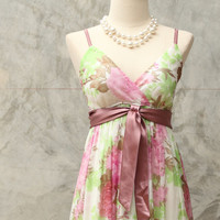 jass in autumn/ pink maxi dress./summer sale get 50% off