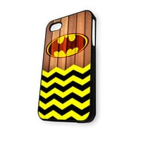 Batman Old Logo With Chevron iPhone 5/5S Case