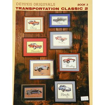 Transportation Classic 2 - Counted Cross Stitch Leaflet