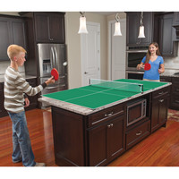 The Kitchen Table Tennis - Hammacher Schlemmer