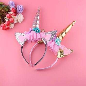 Unicorn Girls Headband