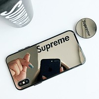Supreme simple English letter iphone6s mobile phone shell all-inclusive soft shell protective cover 2