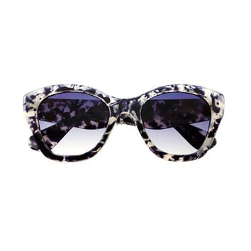 Large Retro Designer Fashion Cat Eye Sunglasses Tortoise C1630