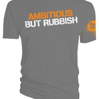 Amazon.com: Top Gear Official Merchandise - Ambitious but Rubbish T-shirt: Clothing