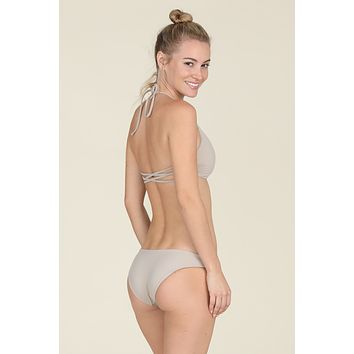 Tori Praver Swimwear - Isla Bottom | Driftwood