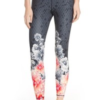Ted Baker London 'Monorose Border' Leggings | Nordstrom