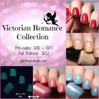PREODER MINI Victorian Romance Collection - Custom Handcrafted Valentine's Day Nail Polish from Spellbound Nails