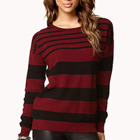 Multi-Striped Sweater | FOREVER 21 - 2062942264