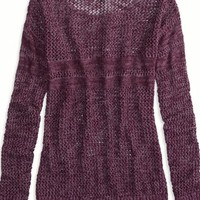 AEO Women's Factory Marled Knit Sweater