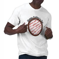 Father's Day Round Brown Photo Frame T Shirts from Zazzle.com