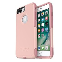 OtterBox COMMUTER SERIES Case for iPhone 8 Plus & iPhone 7 Plus (ONLY) - Retail Packaging - BALLET WAY (PINK SALT/BLUSH)