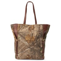 Realtree Camouflage Side Zip Expandable Tote