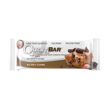 Quest Nutrition Quest Bar Chocolate Chip Cookie Dough, 36 Count