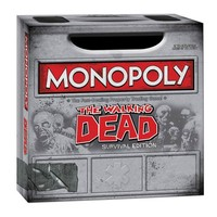 The Walking Dead Comic Survival Edition Monopoly Game - Usaopoly - Walking Dead - Games at Entertainment Earth