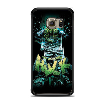 The Icredible Hulk Samsung Galaxy S6 Edge Case