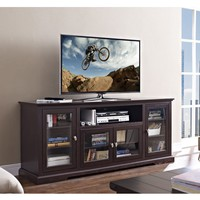 "70"" Highboy Style Wood TV Stand - Espresso"