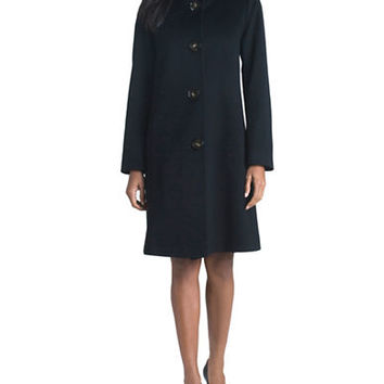 Fleurette Stand Collar Coat