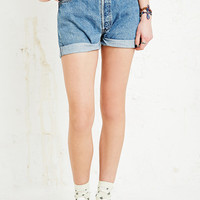 Vintage Renewal Levi's Turn-Up Denim Shorts - Urban Outfitters