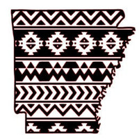Aztec/Tribal Arkansas Decal Aztec Car Window Decal Tribal Car Decal