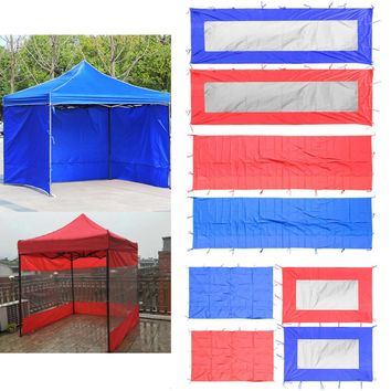 Perfeclan Waterproof Sun Wall Sunwall Replacement Canopy Tent Sidewall Awning Sunwall Outdoor Party Gazebo Tent Sun Shelter