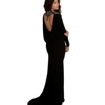 Valentina-black Prom Dress