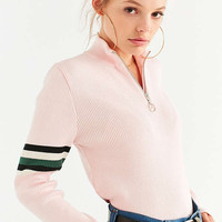 Silence + Noise Molly Half-Zip Sweater   Urban Outfitters