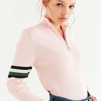 Silence + Noise Molly Half-Zip Sweater | Urban Outfitters