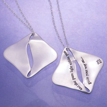Pure Light Within Sterling Silver