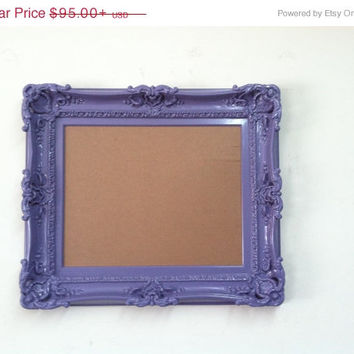 ON SALE 16x20 Wedding lavander frame baroque style shabby chic decor for art paint pictures  in high density Polyurethane and painted by han